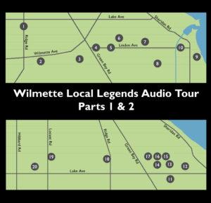 Wilmette Local Legends Audio Tour @ Wilmette Historical Museum