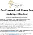 Icon of Leaf Blower Bilingual Handout For Landscapers 5-10-21
