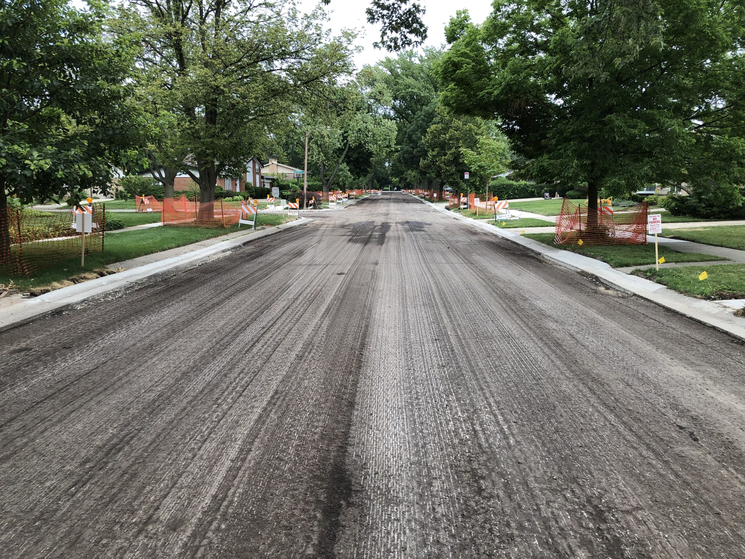 Milled Pavement Surface