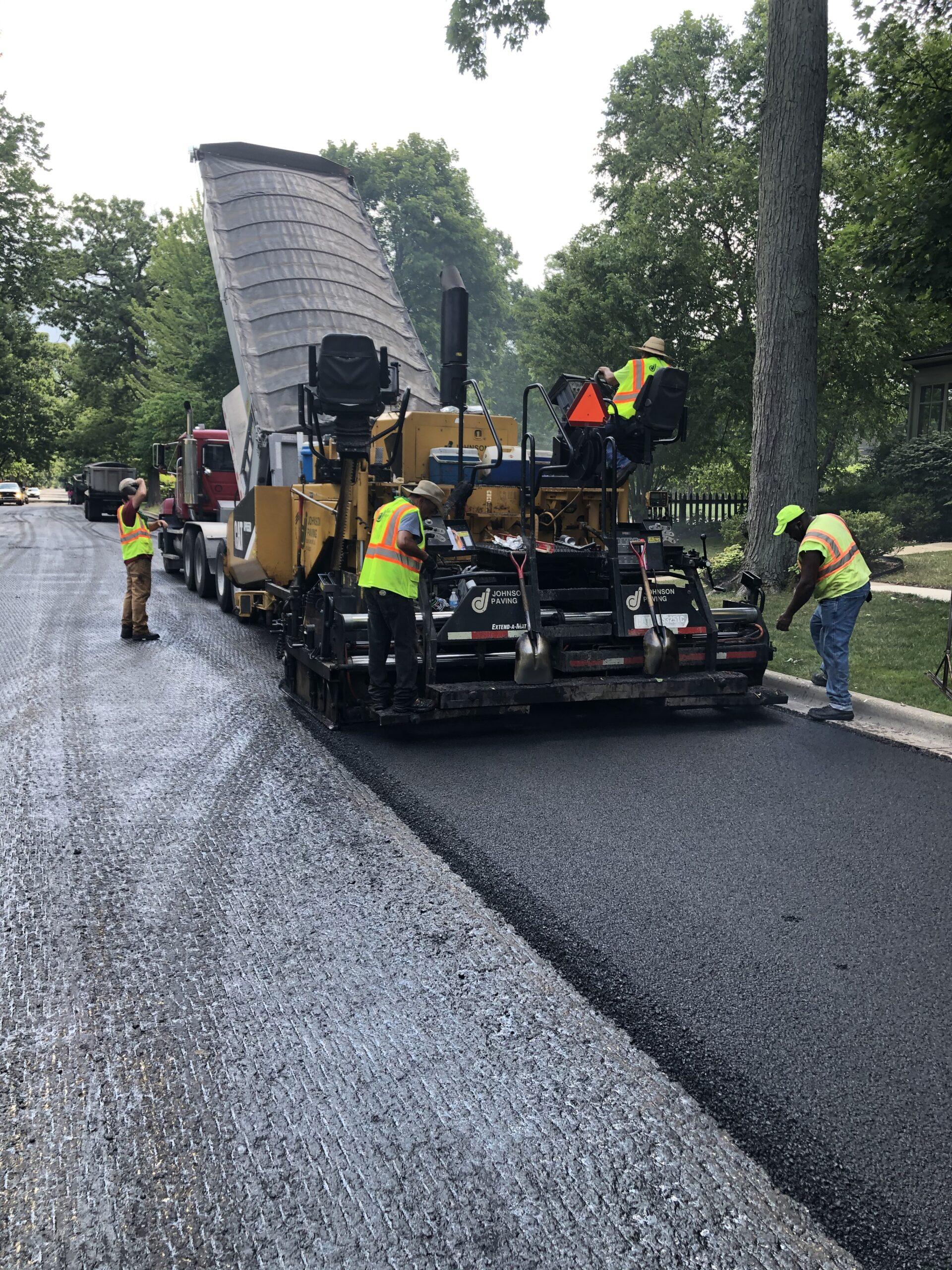 Road Program - Asphalt Paving