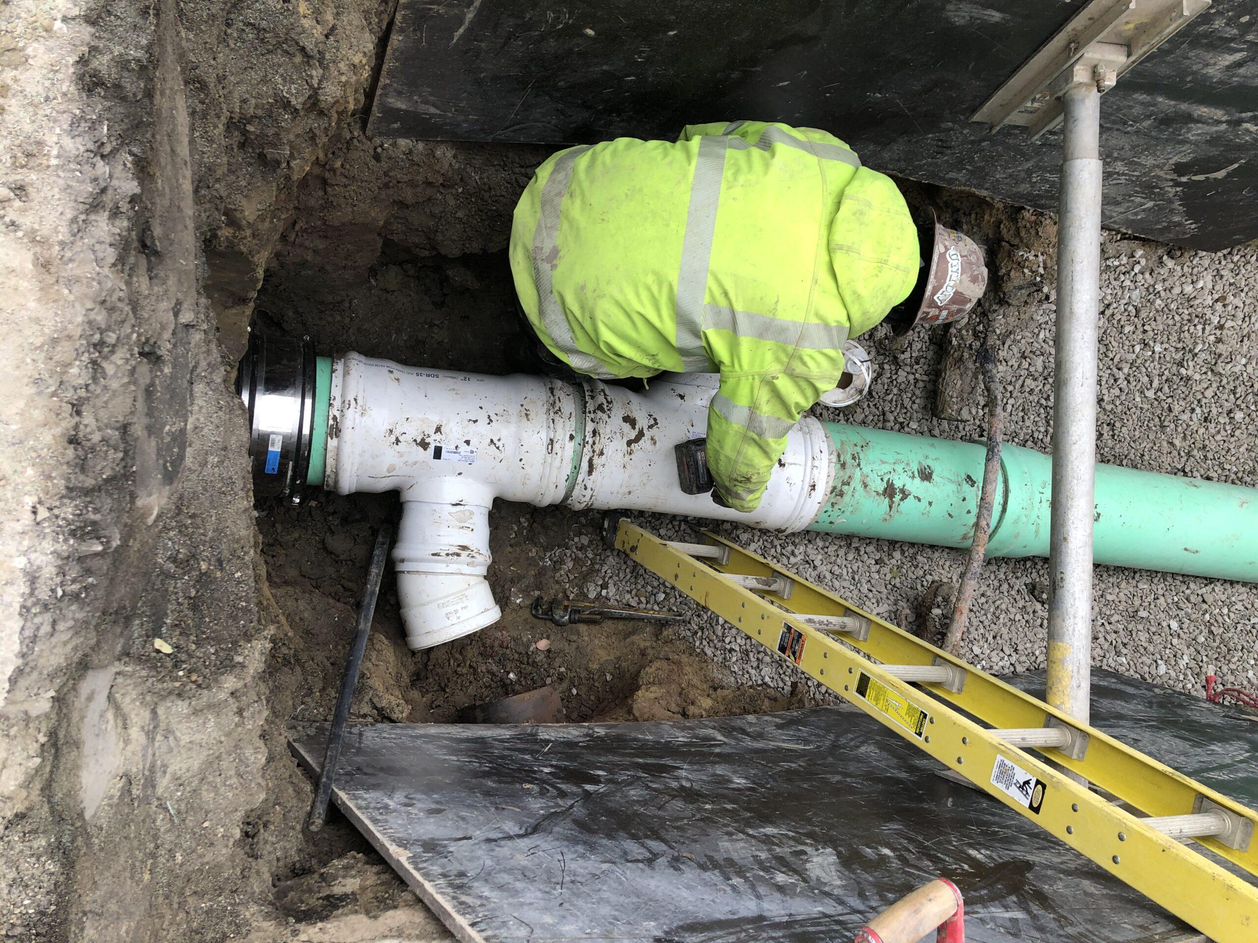 Sewer Repair Program - 12-inch Sewer Main Replacement